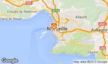 Mapa Marselha Apartamentos 74517