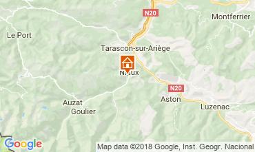 Mapa Ussat les Bains Casa de turismo rural/Casa de campo 95886