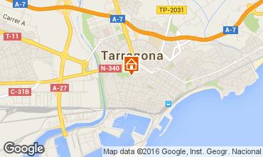 Mapa Tarragona Apartamentos 97617