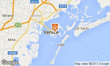 Mapa Veneza Apartamentos 21031