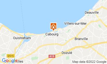 Mapa Cabourg Apartamentos 10782