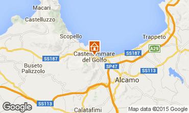 Mapa Castellammare del Golfo Apartamentos 49143