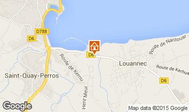 Mapa Perros-Guirec Mobil Home 7433