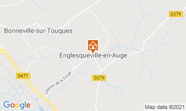 Mapa Deauville Casa de turismo rural/Casa de campo 32207