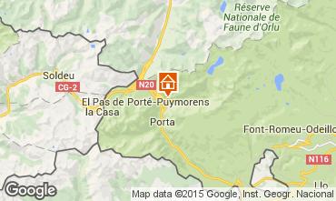 Mapa Port� Puymorens Est�dio 94636