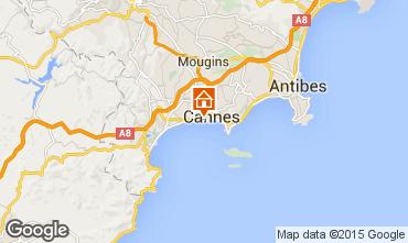 Mapa Cannes Apartamentos 5542