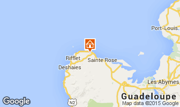 Mapa Sainte Rose Casa de turismo rural/Casa de campo 62646