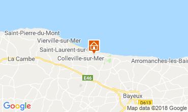 Mapa Arromanches Casa de turismo rural/Casa de campo 102842