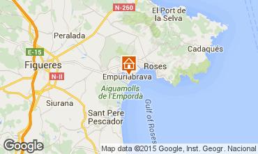 Mapa Empuriabrava Apartamentos 40633