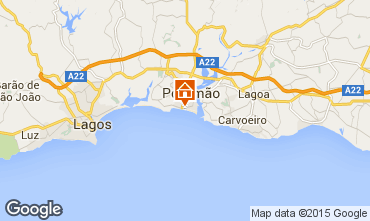 Mapa Praia da Rocha Apartamentos 88195