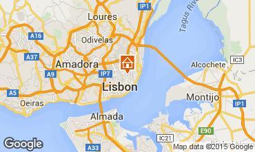 Mapa Lisboa Apartamentos 34946