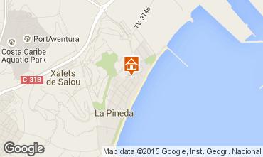 Mapa La Pineda Apartamentos 70004