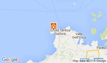 Mapa Santa Teresa di Gallura Apartamentos 99069