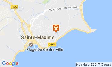 Mapa Sainte Maxime Vivenda 108708