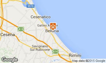 Mapa Bellaria Igea Marina Apartamentos 88414