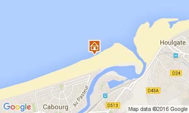 Mapa Cabourg Apartamentos 83196