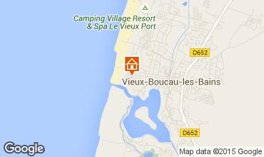 Mapa Vieux Boucau Apartamentos 10054