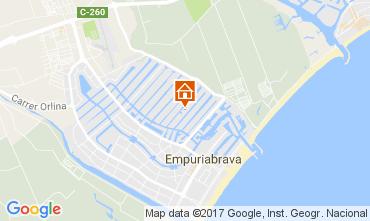 Mapa Empuriabrava Casa 108613