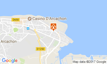 Mapa Arcachon Casa 112165