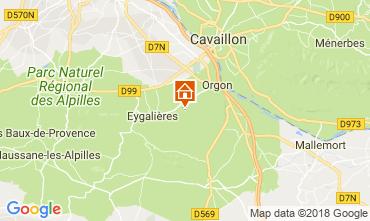 Mapa Eygalières Casa 114443