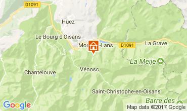 Mapa Les 2 Alpes Apartamentos 57671