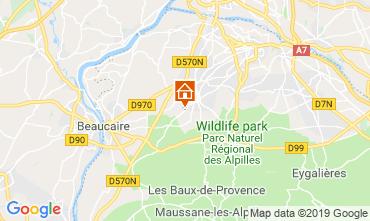 Mapa Saint Rémy de Provence Casa de turismo rural/Casa de campo 118685