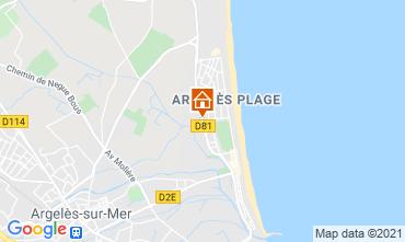 Mapa Argeles sur Mer Estúdio 90896