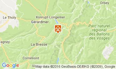 Mapa La Bresse Hohneck Chalé 106880