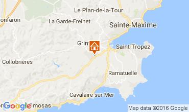 Mapa Saint Tropez Apartamentos 93434