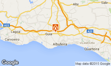 Mapa Albufeira Vivenda 67193