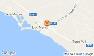 Mapa Lido Marini Casa 107649