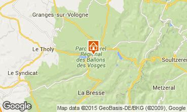 Mapa Gérardmer Casa de turismo rural/Casa de campo 97695