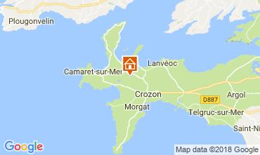 Mapa Camaret sur Mer Casa 114737