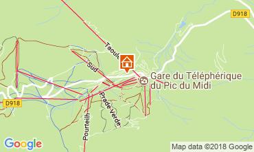 Mapa La Mongie Apartamentos 115586