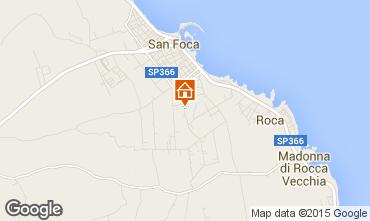 Mapa San Foca Apartamentos 79395