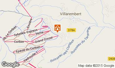 Mapa Le Corbier Apartamentos 80072