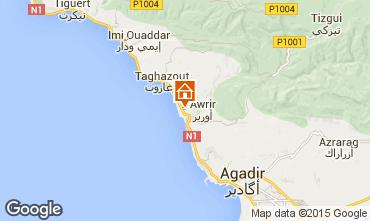 Mapa Agadir Apartamentos 33595