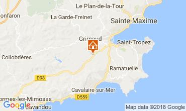 Mapa Saint Tropez Vivenda 64669