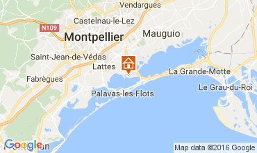 Mapa Montpellier Mobil Home 107400