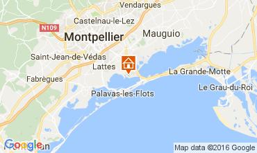 Mapa Montpellier Mobil Home 107400