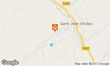 Mapa Saint Jean d'Aulps- La Grande Terche Chal� 55341