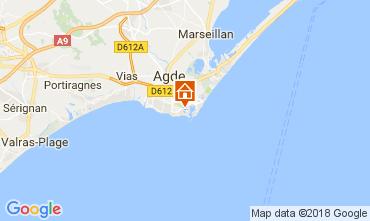Mapa Cap d'Agde Apartamentos 99840