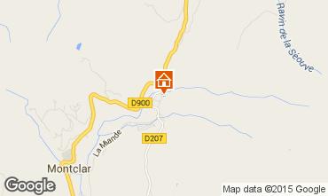 Mapa Saint Jean Montclar Est�dio 59268