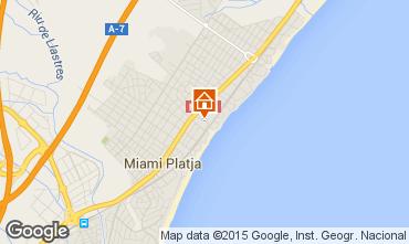 Mapa Miami Playa Apartamentos 86076
