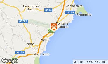 Mapa Avola Vivenda 94530