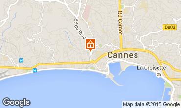 Mapa Cannes Apartamentos 93218