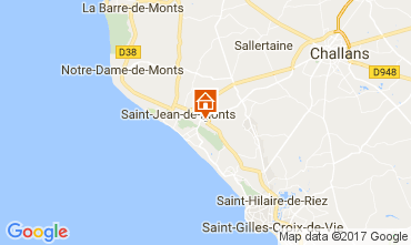 Mapa Saint Jean de Monts Mobil Home 112267