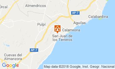 Mapa San Juan de los Terreros Apartamentos 116601