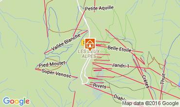 Mapa Les 2 Alpes Apartamentos 105180
