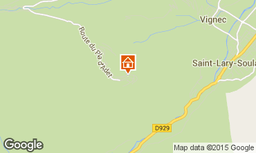 Mapa Saint Lary Soulan Apartamentos 73955